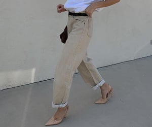 beige, daily, and girl image