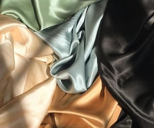 aesthetic, fabric, and silk image