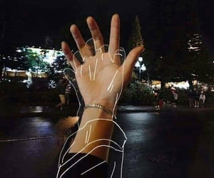 love, aesthetic, and hand image