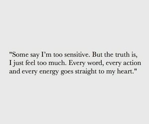 quotes, feelings, and heart image