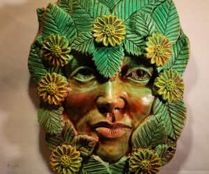 etsy, green lady, and may day image