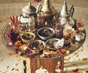 tea, drink, and morocco image