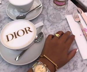 dior, coffee, and cartier image