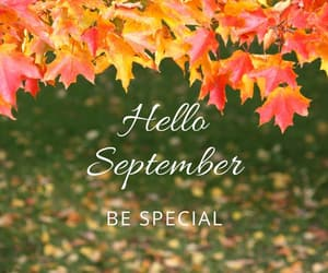 autumn, September, and welcome image