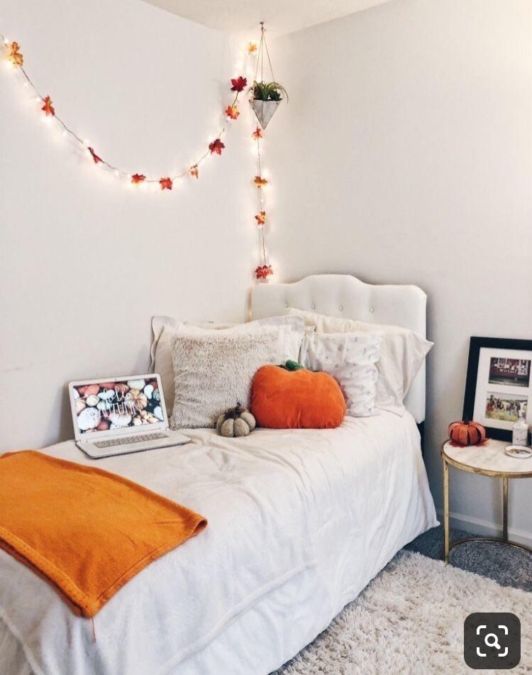 Cute Fall Bedroom Decor Uploaded By Miranda Eileen