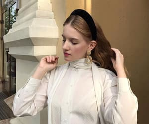 blouse, classy, and fashion image