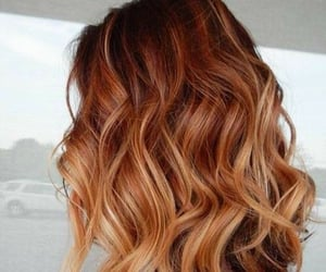 beautiful hair, cool hair, and dyed hair image