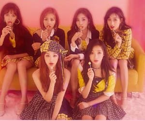 april, pink, and girl groups image