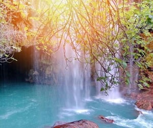 aesthetic, natural pools, and beautiful image