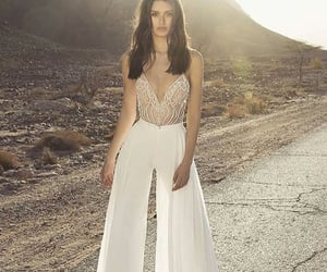 dress, fashion, and mujer image