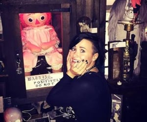 demi lovato, horror movie, and annabelle image