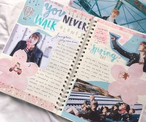 kpop bullet journal image