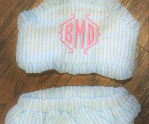 etsy, monogrammed, and toddlergirl image