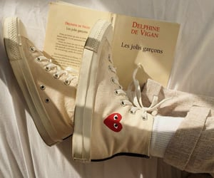 shoes, aesthetic, and book image
