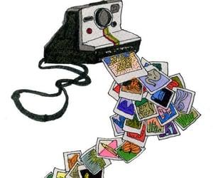 polaroid, camera, and photos image