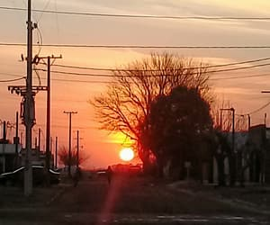 argentina, sol, and atardecer image