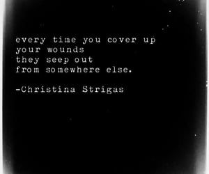 love quotes, poems, and poetry christina strigas image
