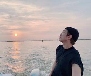 kpop, ocean, and kim namjoon image