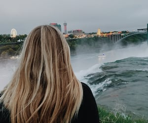 aesthetic, hair, and lookout image