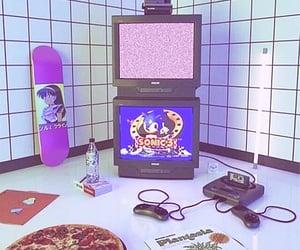 room and vaporwave image