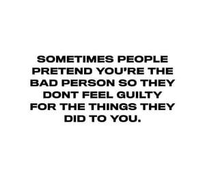 bad person, frasi, and hurts image