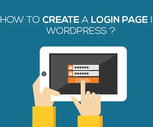 wordpress website, wordpress support, and create custom login image
