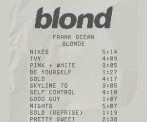 blonde, frank ocean, and aesthetic image