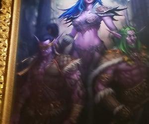 art, elf, and world of warcraft image
