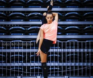 fitness, flexibility, and rhythmic gymnastics image