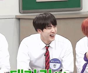 laughing, kim seokjin, and gif image