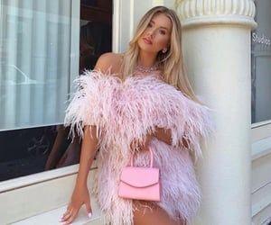 bag, barbie, and dress image