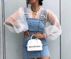 fashion, style, and Balenciaga image