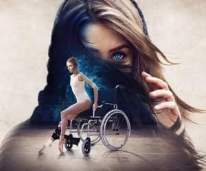 ballerina, injury, and ballet image