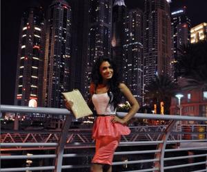 city, girl, and Dubai image