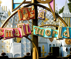 it's a small world image