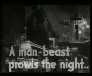 gif, vintage, and werewolf of london image