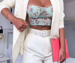 clothes, floral, and inspiration image