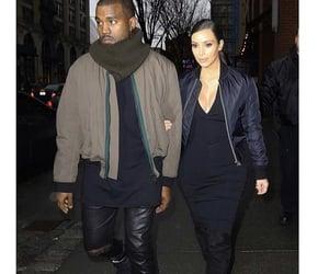 kanye west, kim kardashian, and tb image