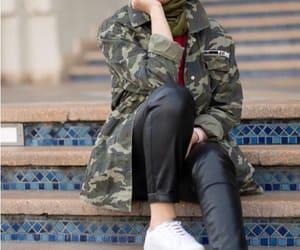 military hijab image