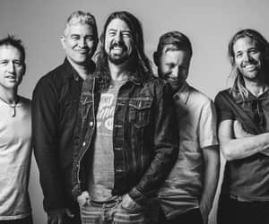 dave grohl, taylor hawkins, and foo fighters image