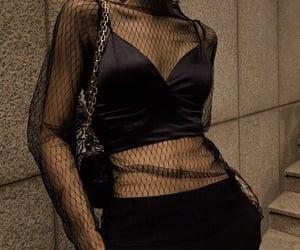 accessories, aesthetics, and black image