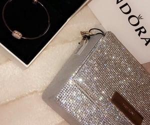 bag, bracelets, and diamonds image