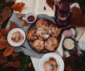 autumn, fall, and coffe image