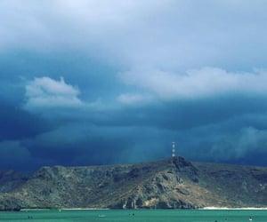 beach, california, and puerto image