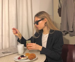 breakfast, fashion, and food image