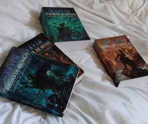 reading, george r r martin, and books image