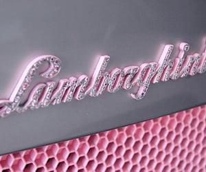 Lamborghini, pink, and car image