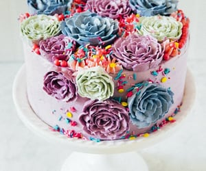 cake, cake decoration, and foodporn image