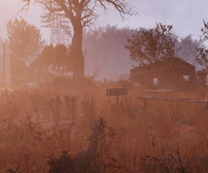 abandoned, autumn, and fallout image