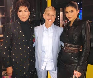 ellen, kris, and jenner image